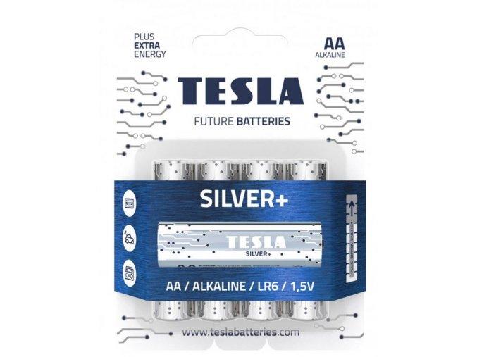 Baterie TESLA SILVER+ AA 4ks