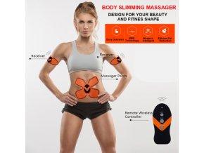 Fitness stimulátor svalů s EMS