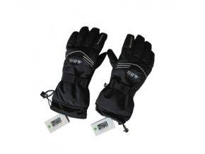 Vyhřívané rukavice W-Space 3800mAh, černá