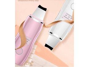 Ultrasonic skin cleaner