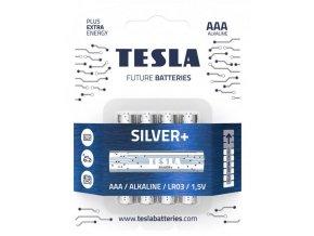 Baterie TESLA SILVER+ AAA 4ks