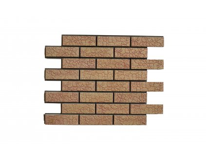 2594 obkladovy panel stary kamen broskev zelva