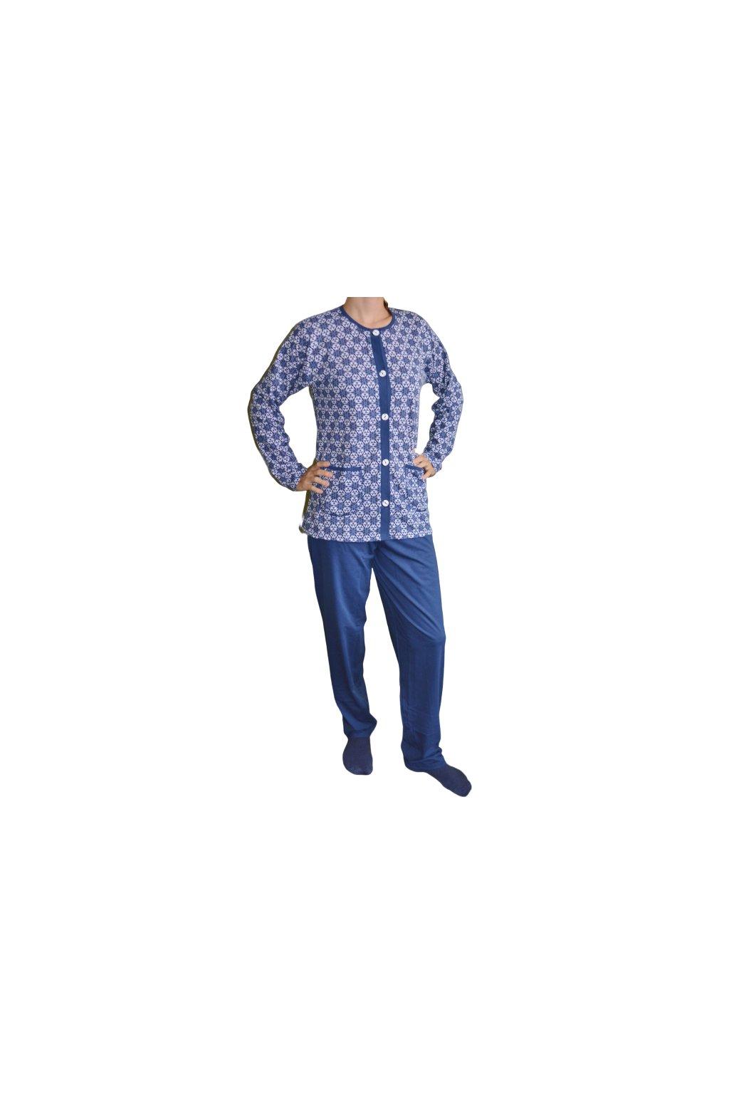 Dáša - propínací pyžamo/ domácí oblečení