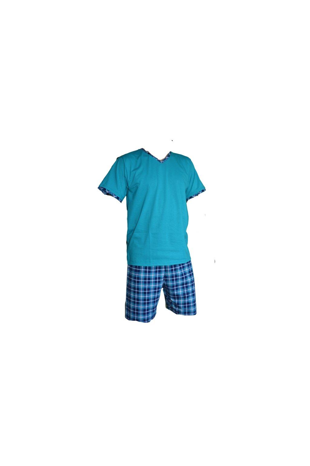 Pyžamo David/Richard - tyrkys