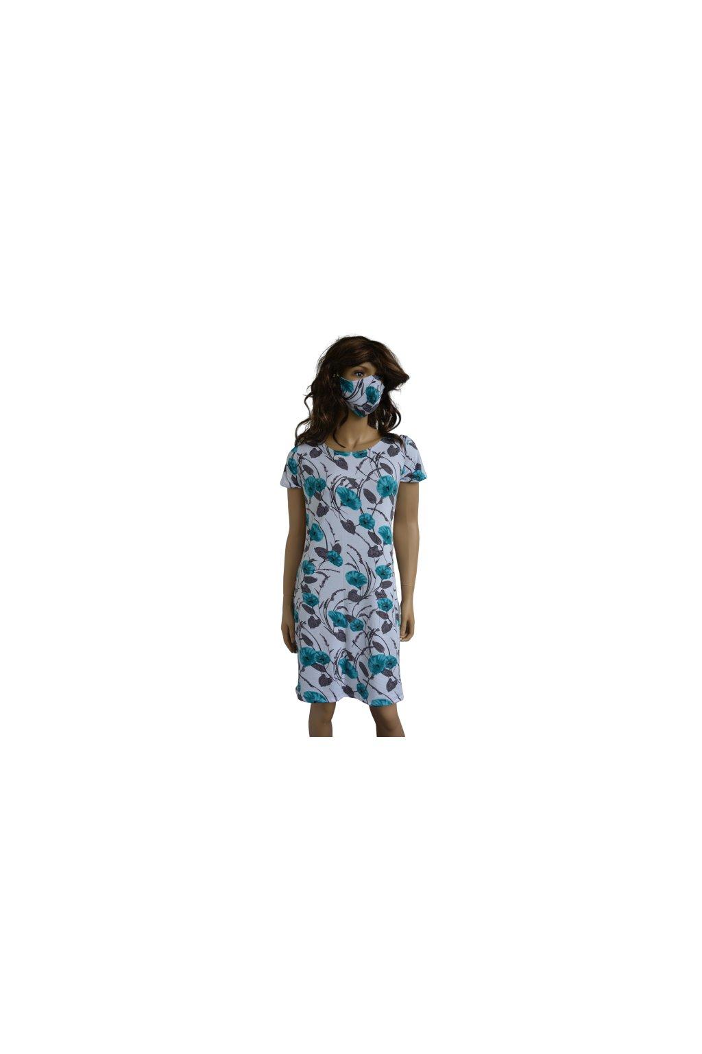 Šaty Leona - květy