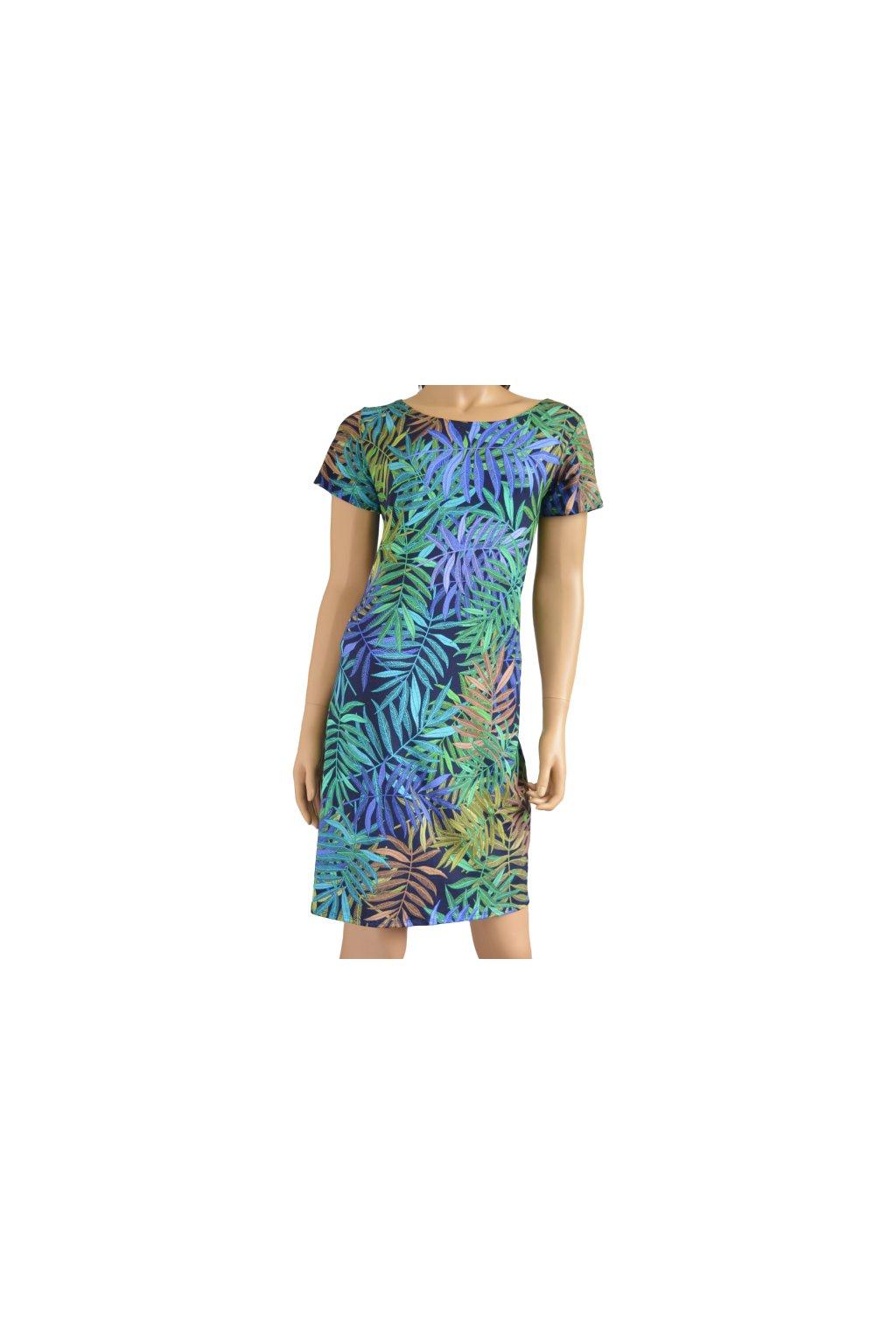 Šaty Leona -  palmy