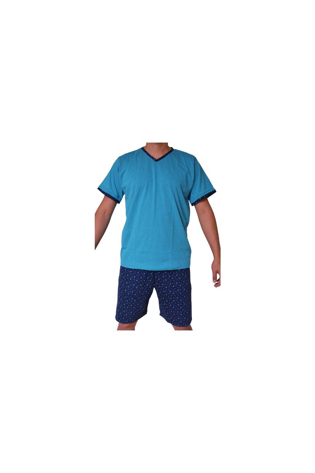 Pyžamo David - trojúhelníčky