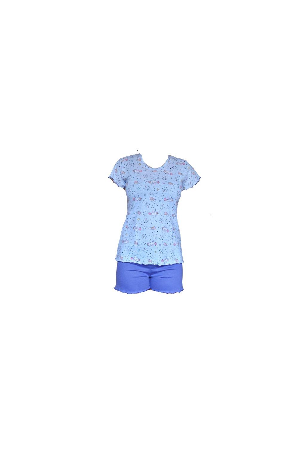 Beáta jednorožci - krátké pyžamo