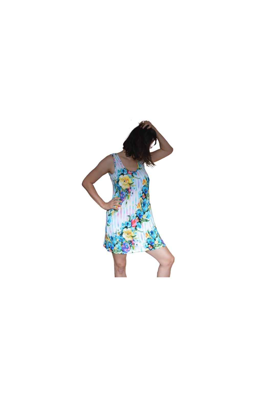 Katrin - šaty bez rukávu