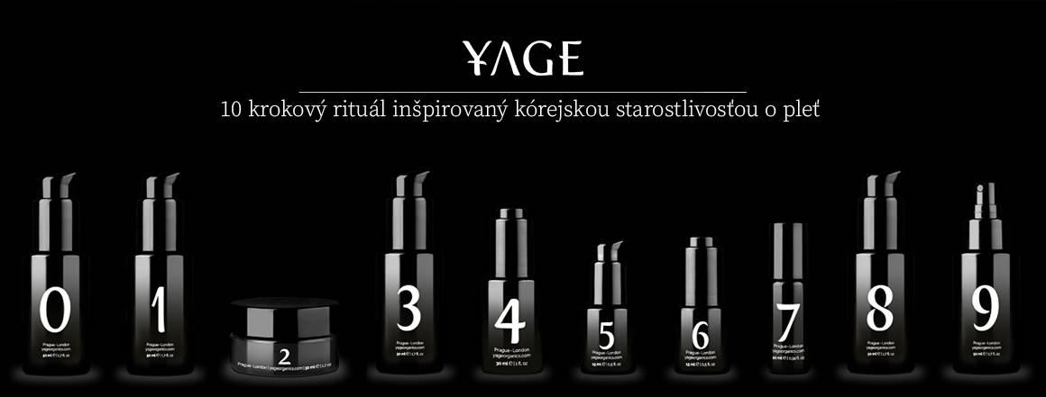Yage - 10 krokový rituál inšpirovaný kórejskou starostlivosťou o pleť