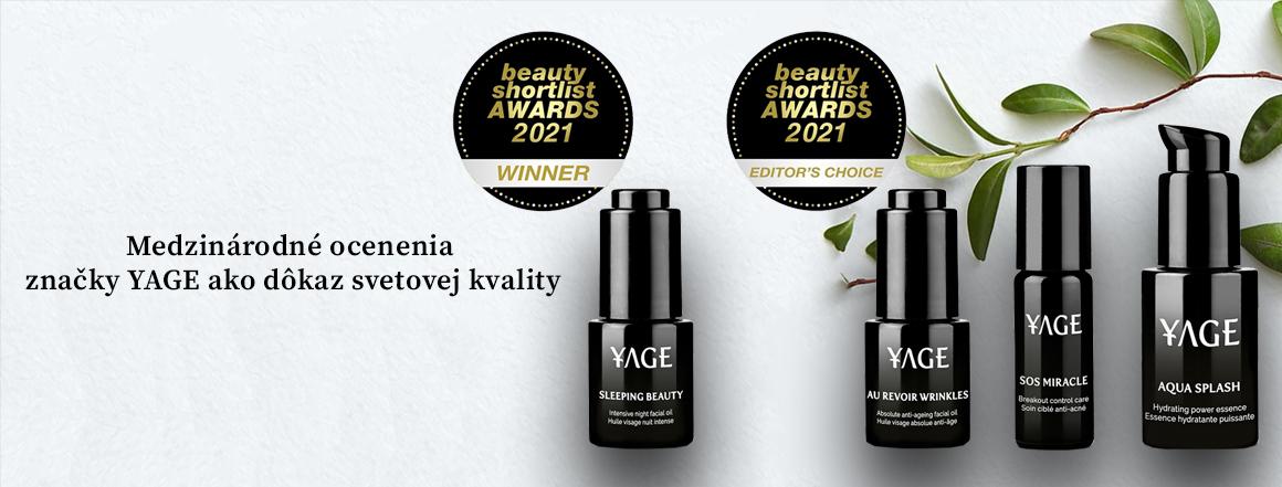 YAGE - Medzinárodné ocenenia