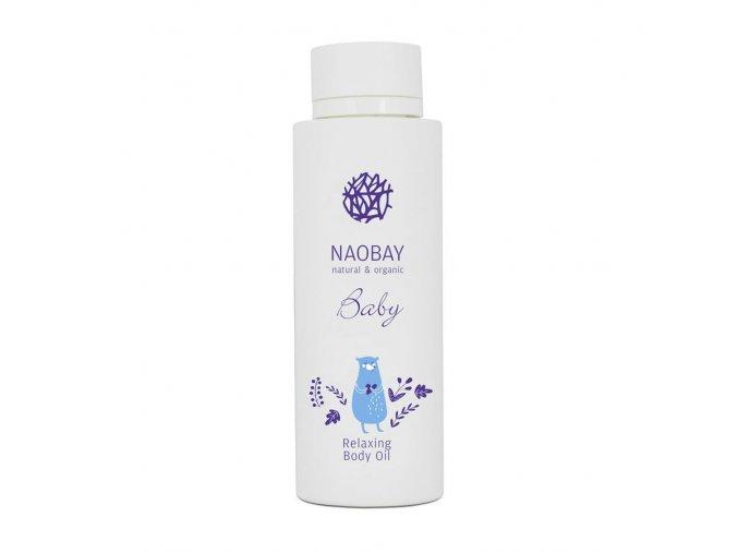 Naobay BABY (150 ml) Detský relaxačný telový olej