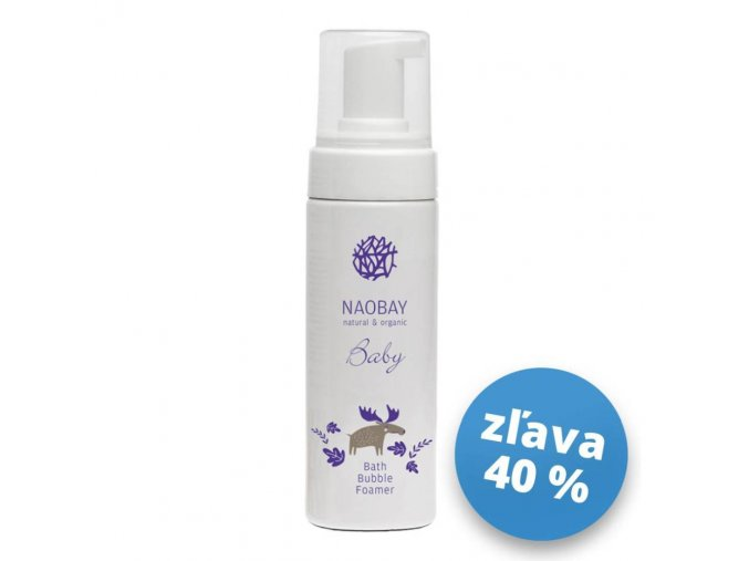 0284 Naobay BABY (150 ml) Detský šampón s bublinkovou penou S