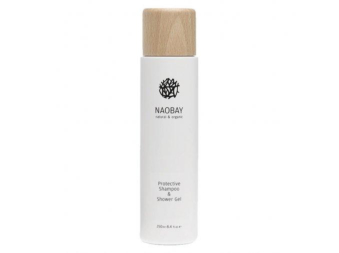 Naobay PROTECTIVE SHAMPOO & SHOWER GEL (250 ml) Ochranný šampón & sprchový gél