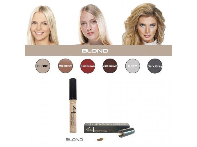 Eyebrow Filler Blond - farba na obočie (svetlá farba - blond)