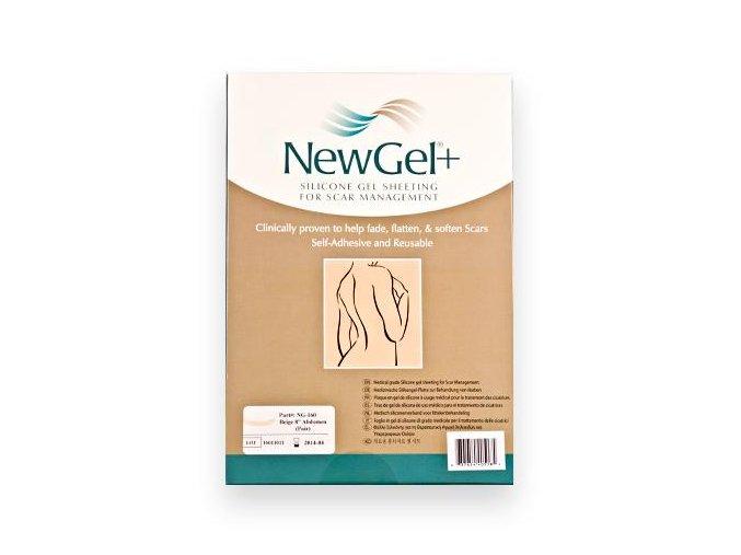 NewGel+ Béžová náplasť na brucho 20 cm (2 ks v balení)