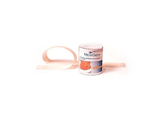 NewGel+ Béžová náplasť na brucho 60 cm (1 ks v balení)