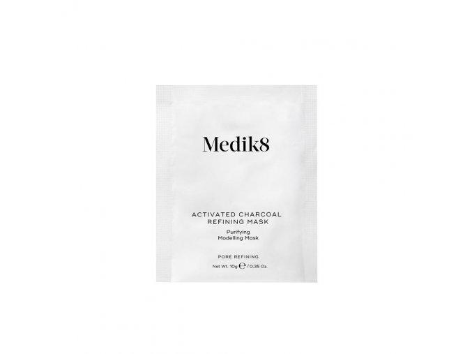 Medik8 ACTIVATED CHARCOAL REFINING MASK (5 ks) Pleťová maska s aktívnym uhlím