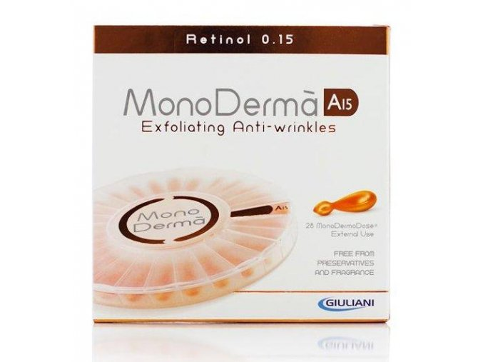 Monoderma A15 Vitamíny na pleť (28 ampuliek)