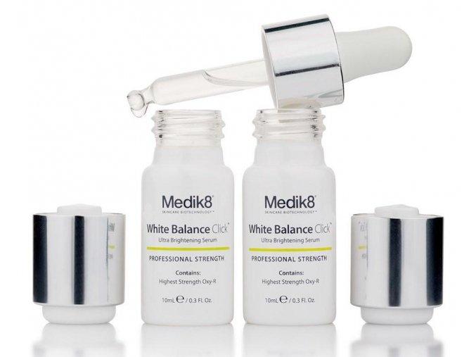 Medik8 WHITE BALANCE CLICK OXY-R ULTRA (2 x 10 ml) Depigmentačné sérum