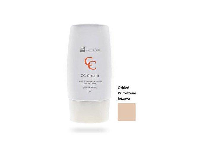 Dermaheal CC (50 g) Krém na kompletnú korekciu - odtieň Natural Beige