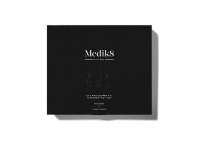 Medik8 CSA Philosophy Kit Discovery Edition Black Edition for Men