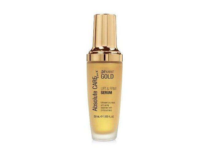 Absolute CARE 24 Karat Gold LIFT & FIRM SERUM Vyhladzujúce & spevňujúce pleťové sérum 50ml obrázok 1