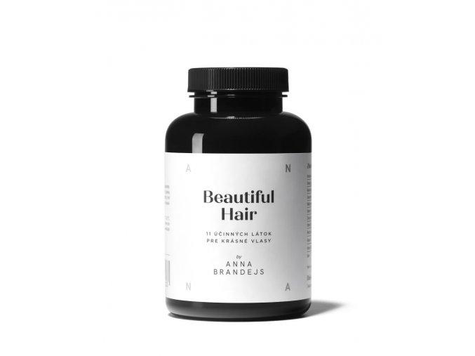 BEAUTIFUL HAIR by Anna Brandejs Pre krásne a zdravé vlasy (60 kapsúl)