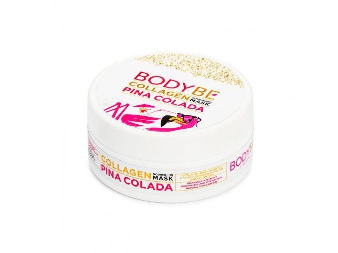 BODYBE – Kolagénová vyživujúci maska s kyselinou hyalurónovou – Pina Colada – 150ml