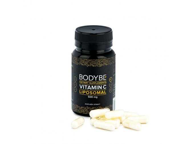 BODYBE Lipozomálne Vitamín C – 500mg – 30 kapsúl