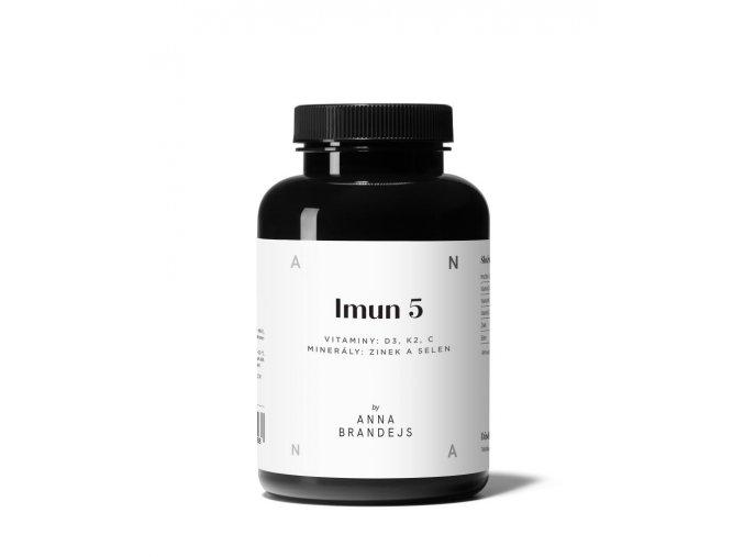 IMUN 5 by ANNA BRANDEJS Doplnok stravy na imunitu (60 kapsúl)