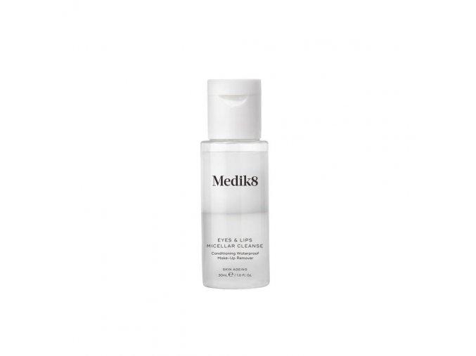 Medik8 EYES & LIPS MICELLAR Odličovač vodeodolného make upu cestovné balenie (30 ml)