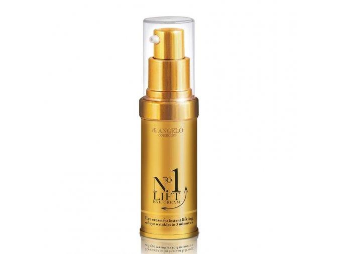 Di Angelo Cosmetics No.1 LIFT Krém pre okamžité vyhladenie vrások očného okolia (15 ml)