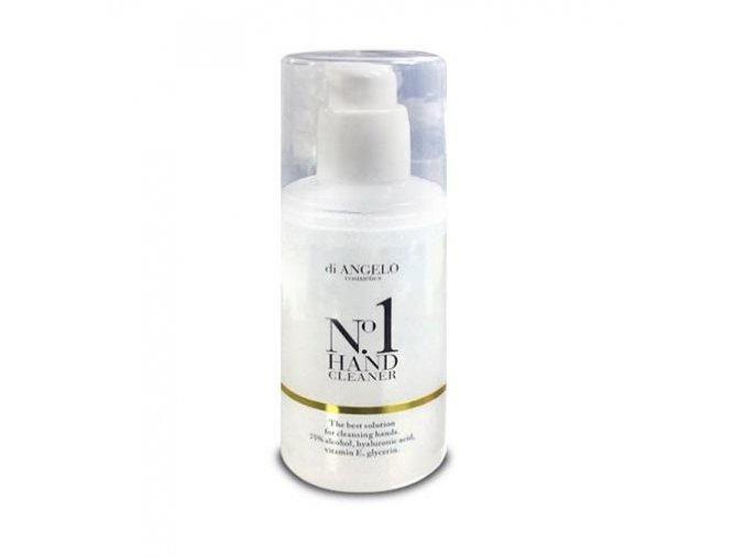 Di Angelo Cosmetics No.1 HAND Čistiaci a ošetrujúci gél na ruky s kyselinou hyalurónovou, vitamínom E a glycerínom (100 ml)