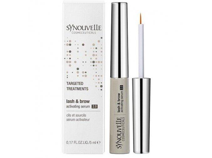 Synouvelle Cosmetics LASH & BROW ACTIVATING SERUM 2.0 SENSITIVE Sérum na riasy a obočie (5 ml)