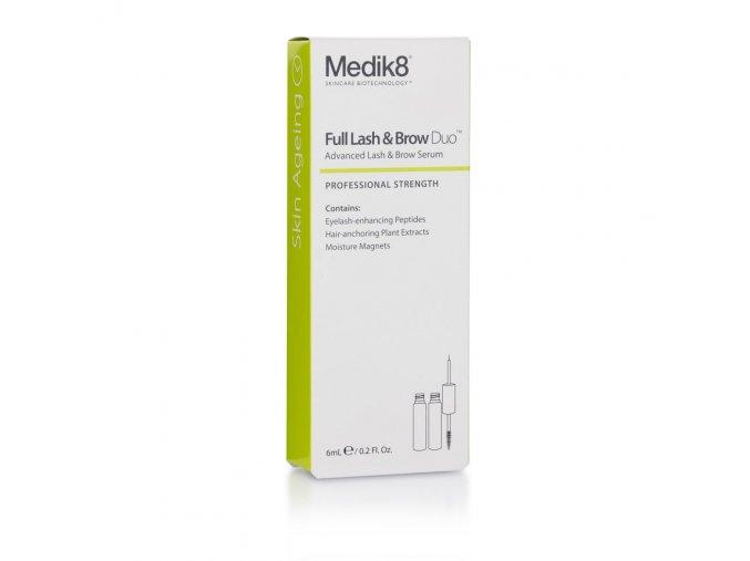 Medik8 FULL LASH & BROW DUO (2 x 3 ml) Pre plnšie, zdravšie a dlhšie riasy