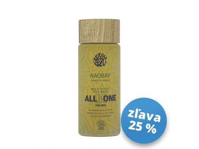 NAO0220 Naobay ALL IN ONE (100 ml) Multifunkčný čistiaci gél pre mužov