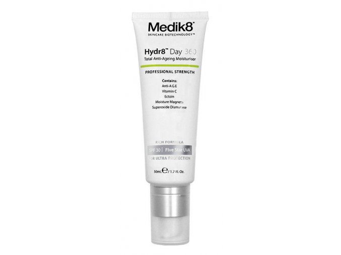Medik8 HYDR8™ DAY 360 SPF 30 (50 ml) Revitalizačný denný krém