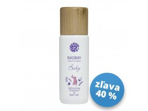 0279 S Naobay BABY (200 ml) Detský jemný šampón & umývací gél