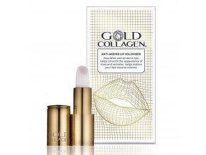 GOLD COLLAGEN ANTI-AGEING LIP VOLUMIZER Prípravok pre starostlivosť o pery 1