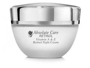 Absolute CARE VITAMIN A & E RETINOL NIGHT CREAM Nočný krém (50ml) obrázok 1