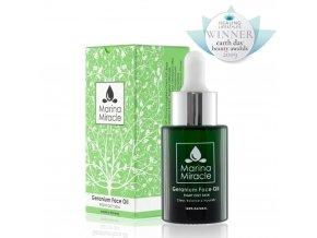 Marina Miracle - Pleťový Olej Geranium Face Oil / Acne Fight Serum