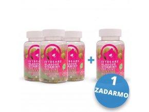 IVY Bears Vlasové vitamny pre ženy 3+1 ZADARMO