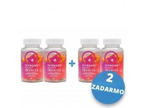 IVY Bears Boost Imunita 2+2 ZADARMO