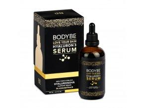 BODYBE HYALURON 3 BODYBE SERUM – 3% kyselina hyaluronová – Pleťové sérum – 100ml