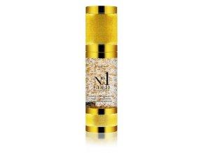 Di Angelo Cosmetics No.1 GOLD Hyalurónové sérum s 24 karátovým zlatom a vitamínom E pre omladenie a hydratáciu pleti (30 ml)