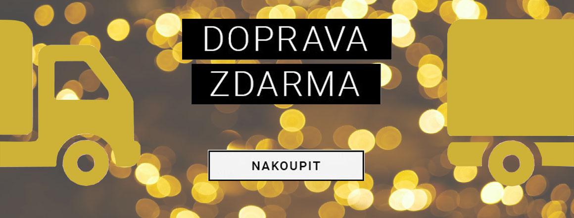 DOPRAVA ZDARMA při objednávce nad 1200 Kč | evelio.cz