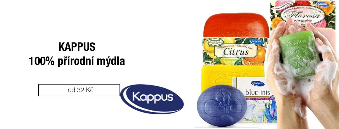 100% přírodní mýdla Kappus