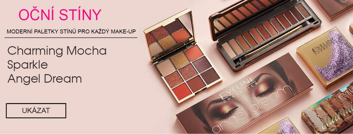 Eveline cosmetics paletky očních stínů pro každý make-up | evelio.cz