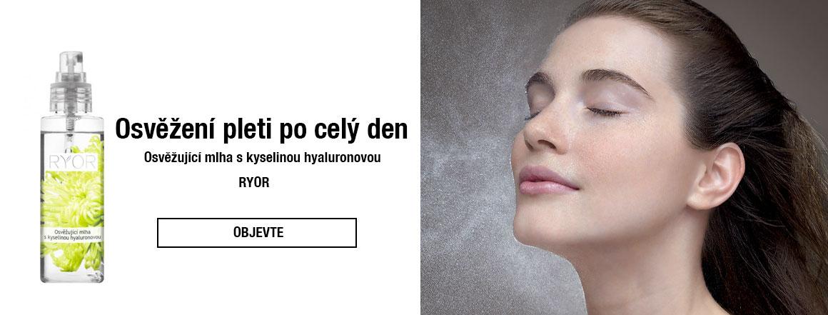Osvěžující mlha s kyselinou hyaluronovou RYOR | evelio